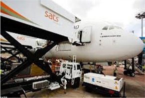 Cargo Lift at SATS Catering for Ease of Food Transportation